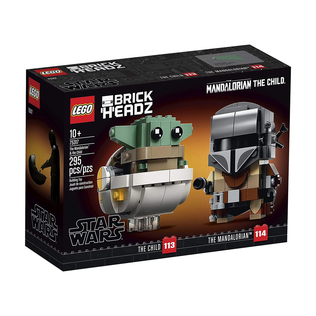 LEGO® Brick Headz Star Wars The Mandalorian & The Child Building Set 75317