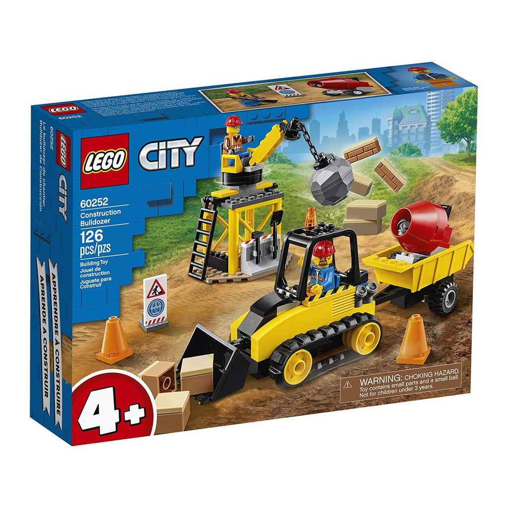 LEGO® City Construction Bulldozer Building Set 60252