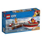 Lego - LEGO® City Dock Side Fire Building Set 60213