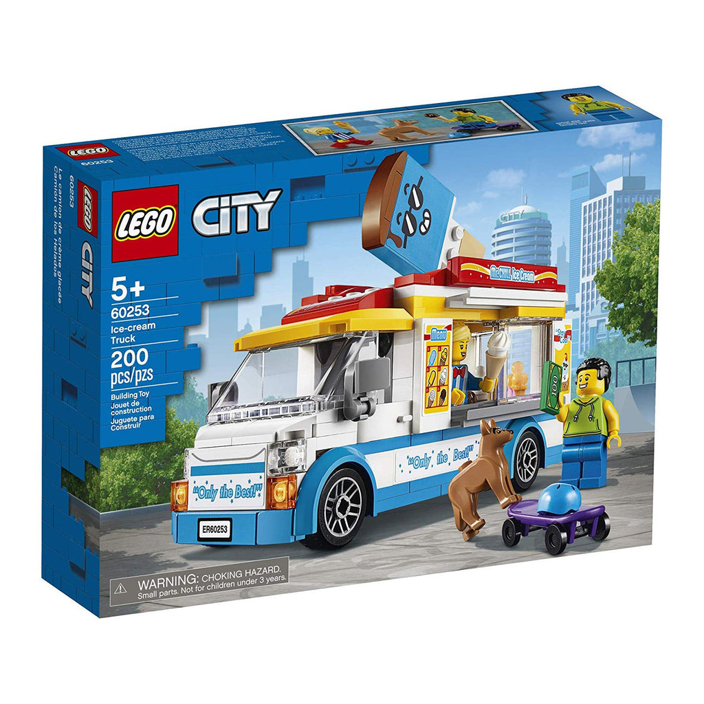 LEGO® City Ice-Cream Truck Building Set 60253