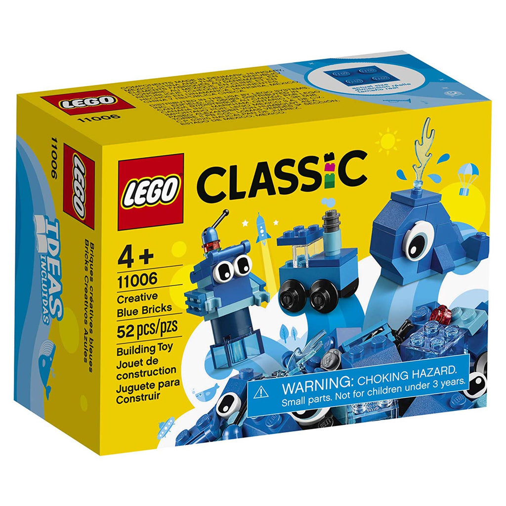 LEGO® Classic Creative Blue Bricks Building Set 11006