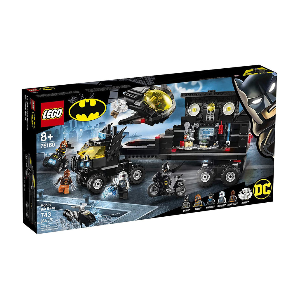 LEGO® DC Batman Mobile Bat Base Building Set 76160