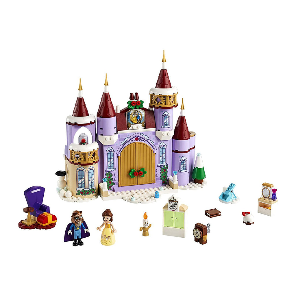 LEGO® Disney Princess Belle's Castle Winter Celebration Building Set 43180