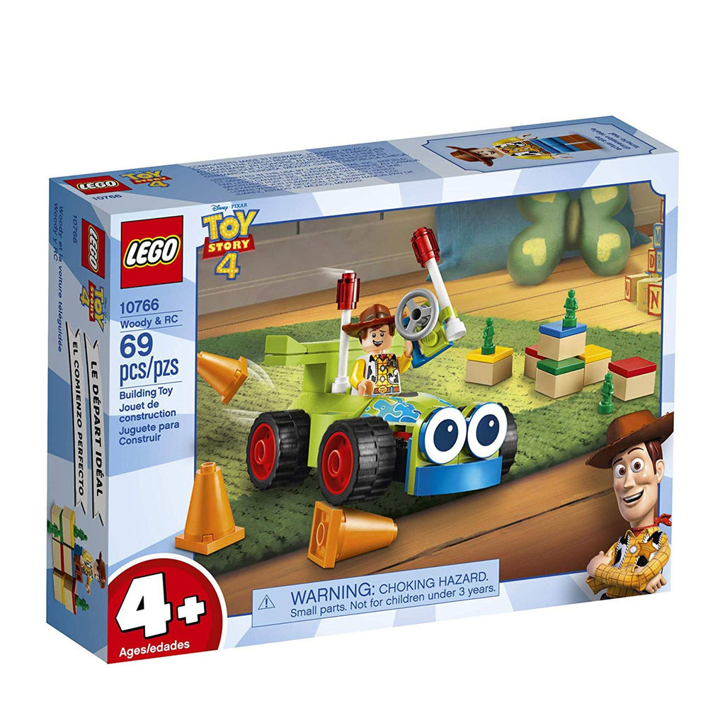 LEGO® Disney Toy Story 4 Woody And RC Building Set 10766