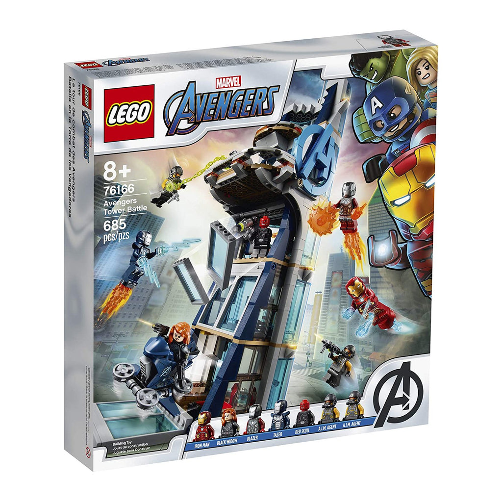 LEGO® Marvel Avengers Avengers Tower Battle Building Set 76166