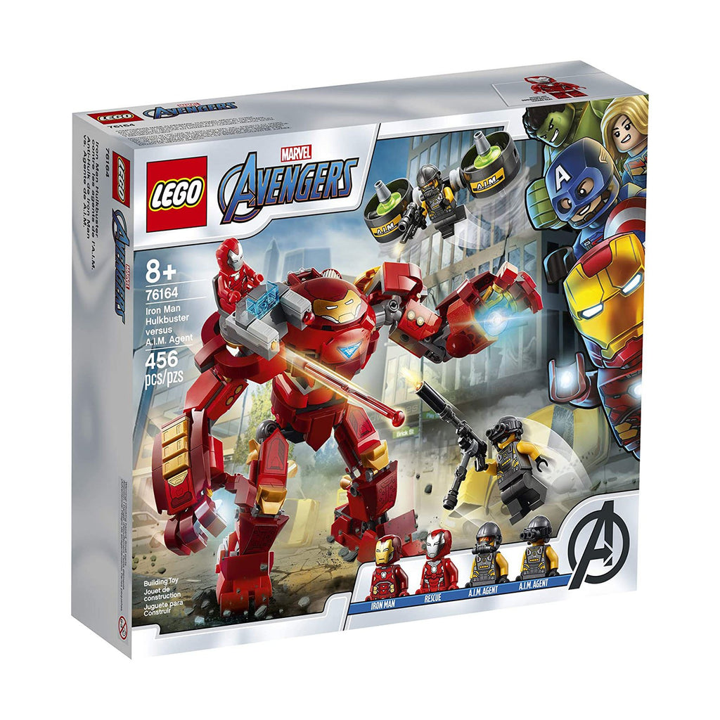 LEGO® Marvel Avengers Iron Man Hulkbuster VS AIM Agent Building Set 76164