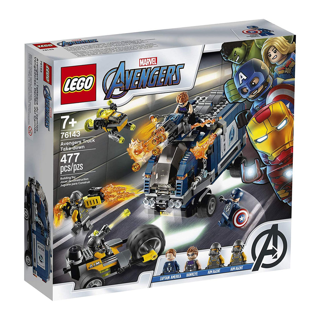 LEGO® Marvel Avengers Truck Take-Down Building Set 76143