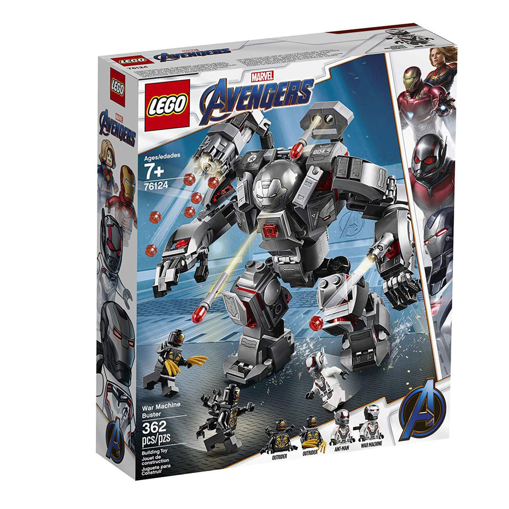 LEGO® Marvel Avengers War Machine Buster Building Set 76124
