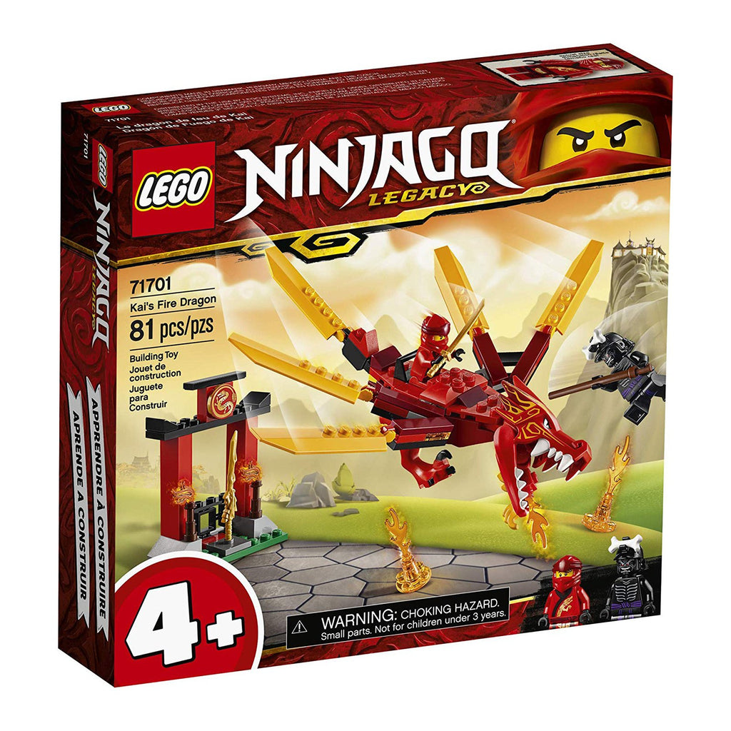 LEGO® Ninjago Kai's Fire Dragon Building Set 71701