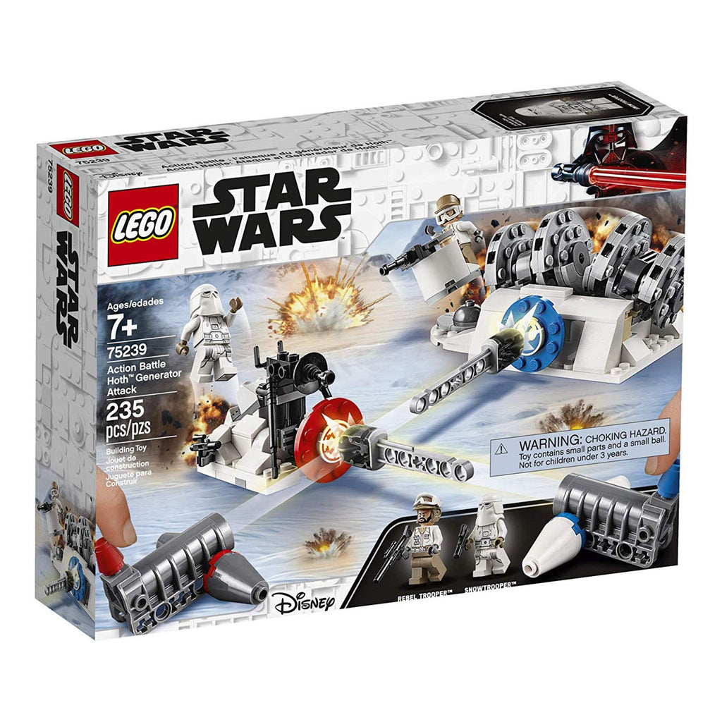 LEGO® Star Wars Action Battle Hoth Generator Attack Building Set 75239