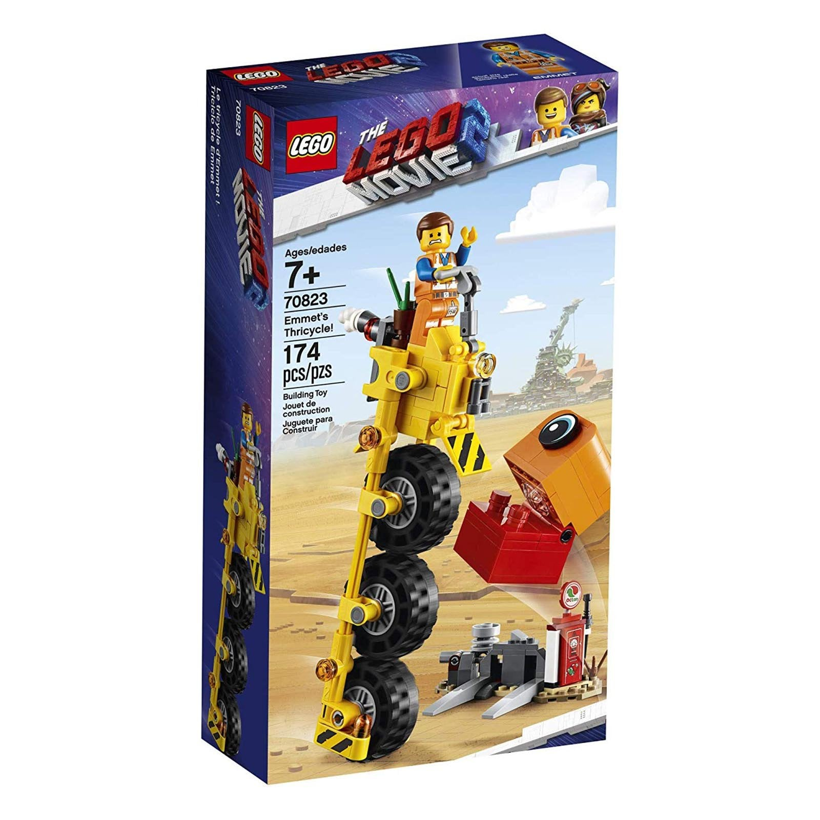 Lego The Lego Movie 2 Emmet S Thricycle Building Sets 70823 Radar Toys