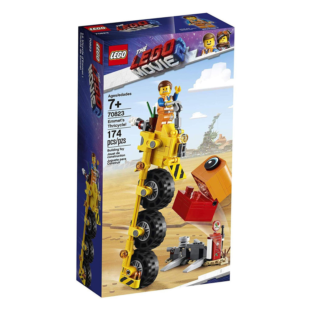 LEGO® The LEGO Movie 2 Emmet's Thricycle Building Sets 70823