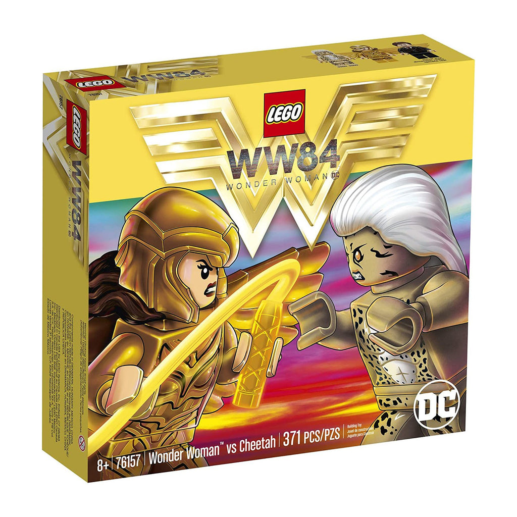 LEGO® WW84 Wonder Woman vs Cheetah Building Set 76157