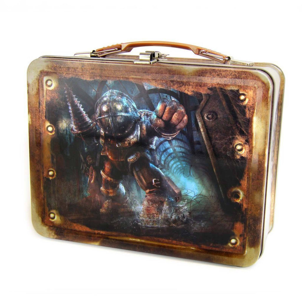 Bioshock Big Daddy Metal Lunch Tin