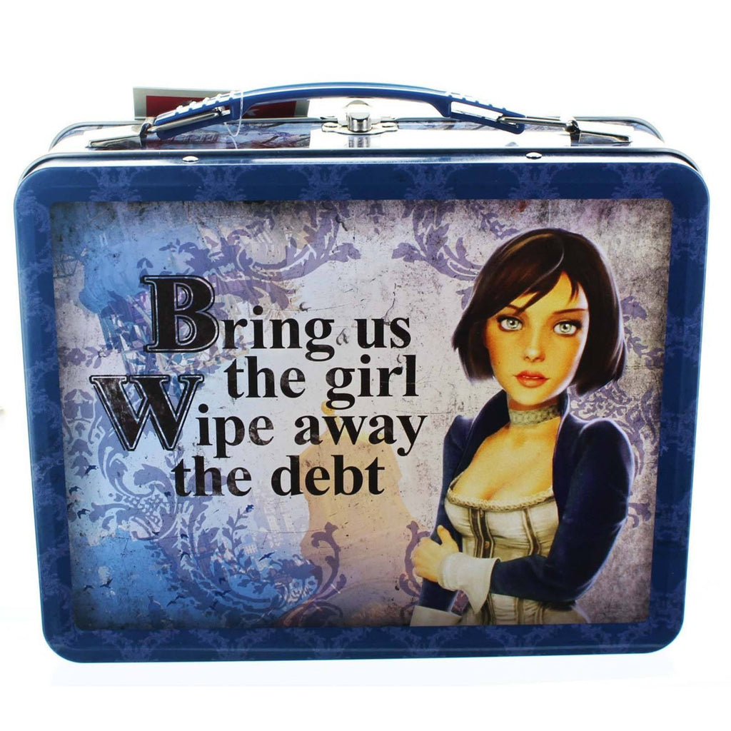 Bioshock Infinite Elizabeth Metal Lunch Tin