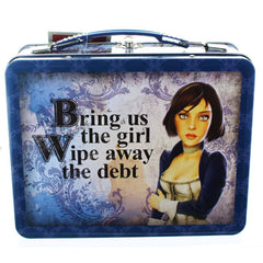 Lunch Boxes - Bioshock Infinite Elizabeth Metal Lunch Tin
