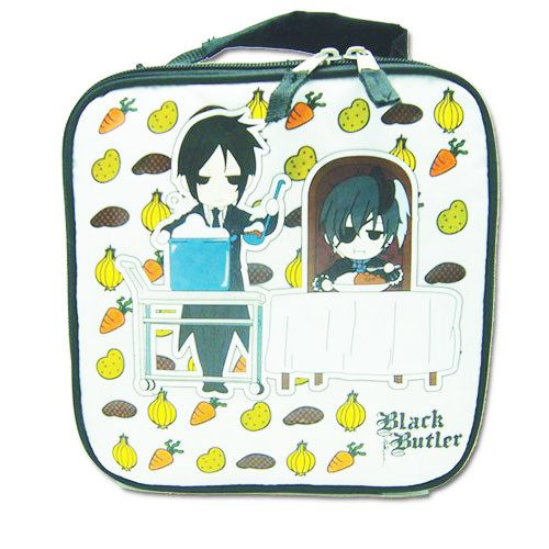 Black Bulter Curry Dinner Lunch Bag