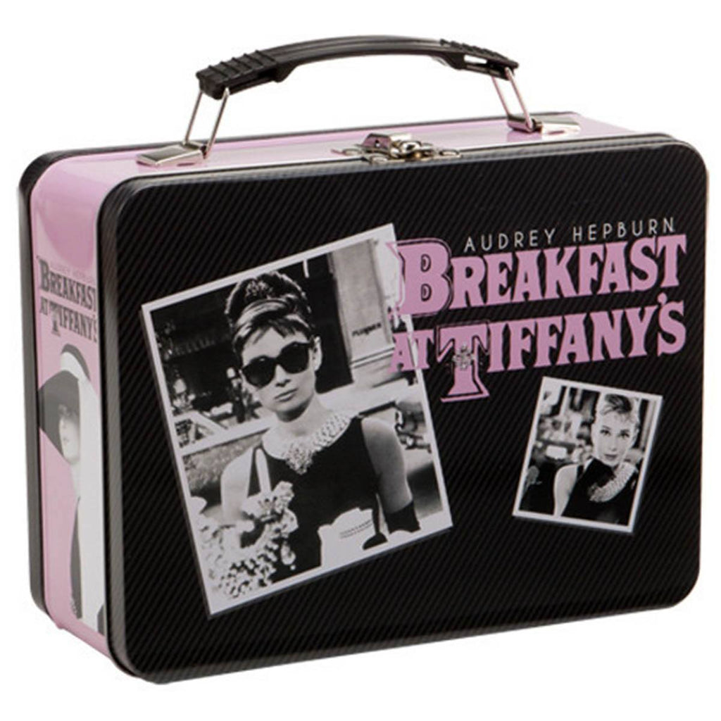 Breakfast At Tiffany's Audrey Hepburn Large Metal Tin Lunch Box