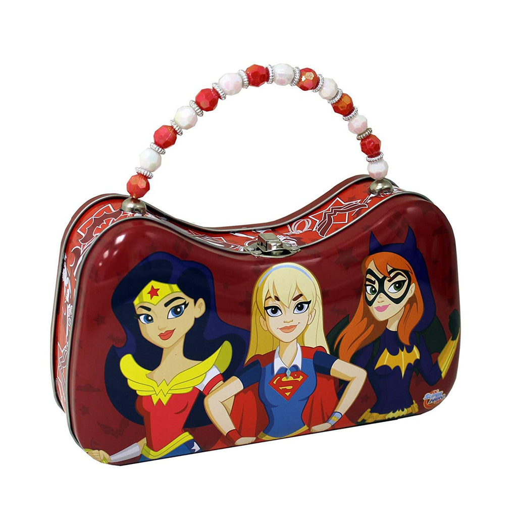 DC Girls Scoop Tin Carry All Purse Tin
