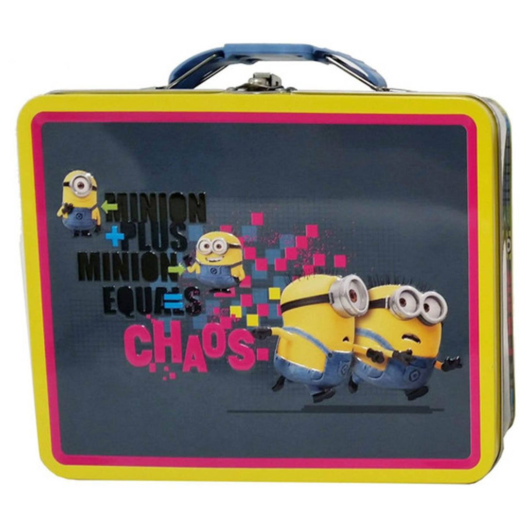 Despicable Me Metal Tin Lunch Box Chaos