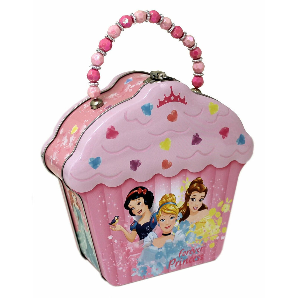 Disney Forever Princess Cupcake Lunch Box Metal Tin