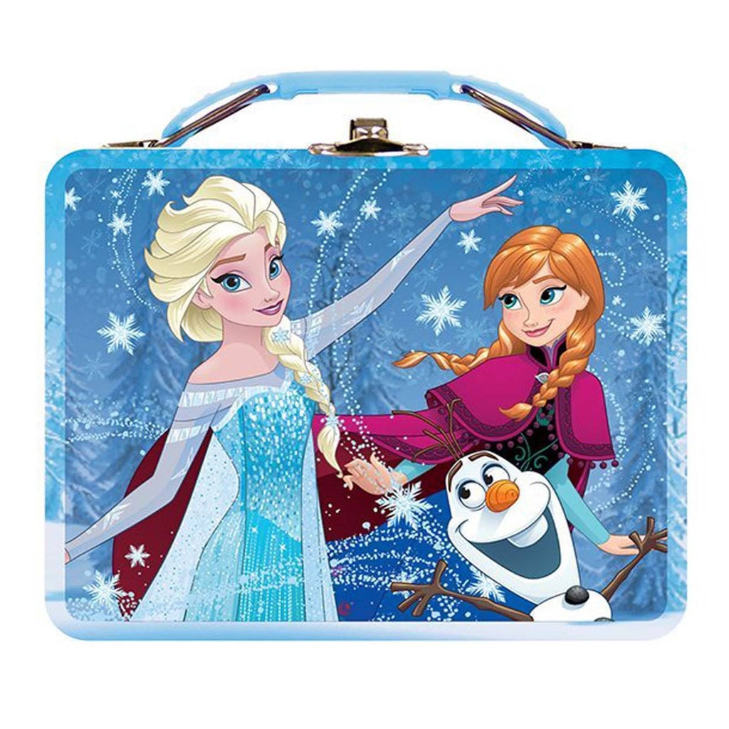 Disney Frozen Metal Tin Lunch Box Group