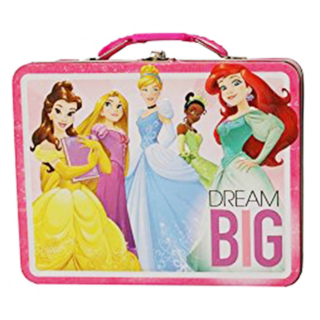 Disney Princess Metal Tin Lunch Box Dream Big
