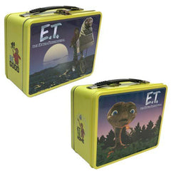 Lunch Boxes - ET The Extra-Terrestrial Lunch Tin Tote