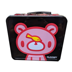 Lunch Boxes - Gloomy Bear Gloomy With Bird Tin Lunch Box