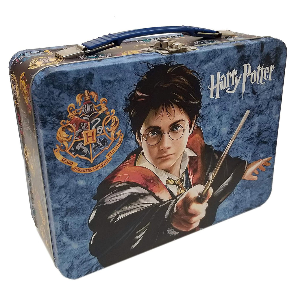 Harry Potter House Crest Lunch Box Metal Tin