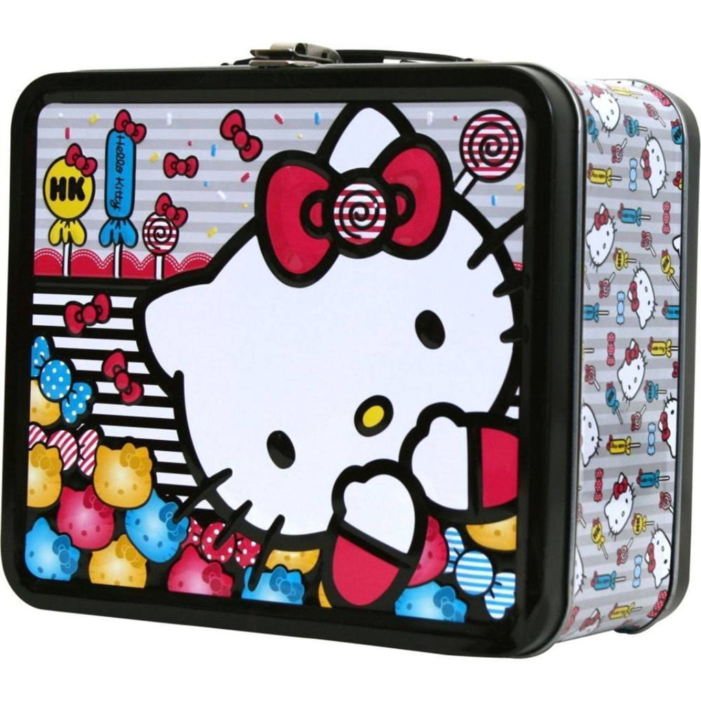 Hello Kitty Metal Tin Lunch Box Candy