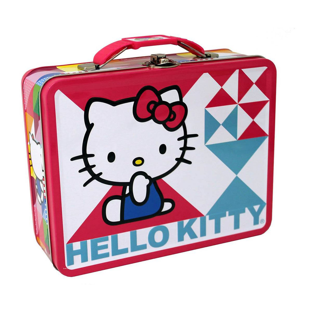 Hello Kitty Metal Tin Lunch Box Oh My