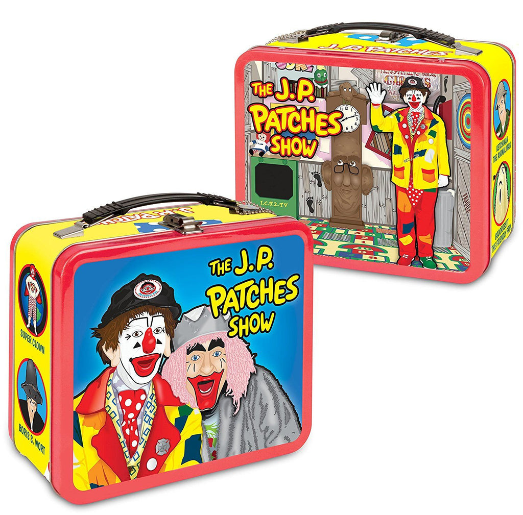 J.P. Patches Metal Tin Lunch Box