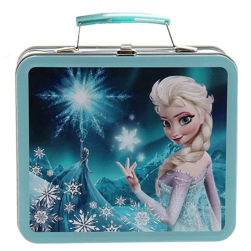 Loungefly Disney Frozen Elsa Blue Magic Metal Lunch Box