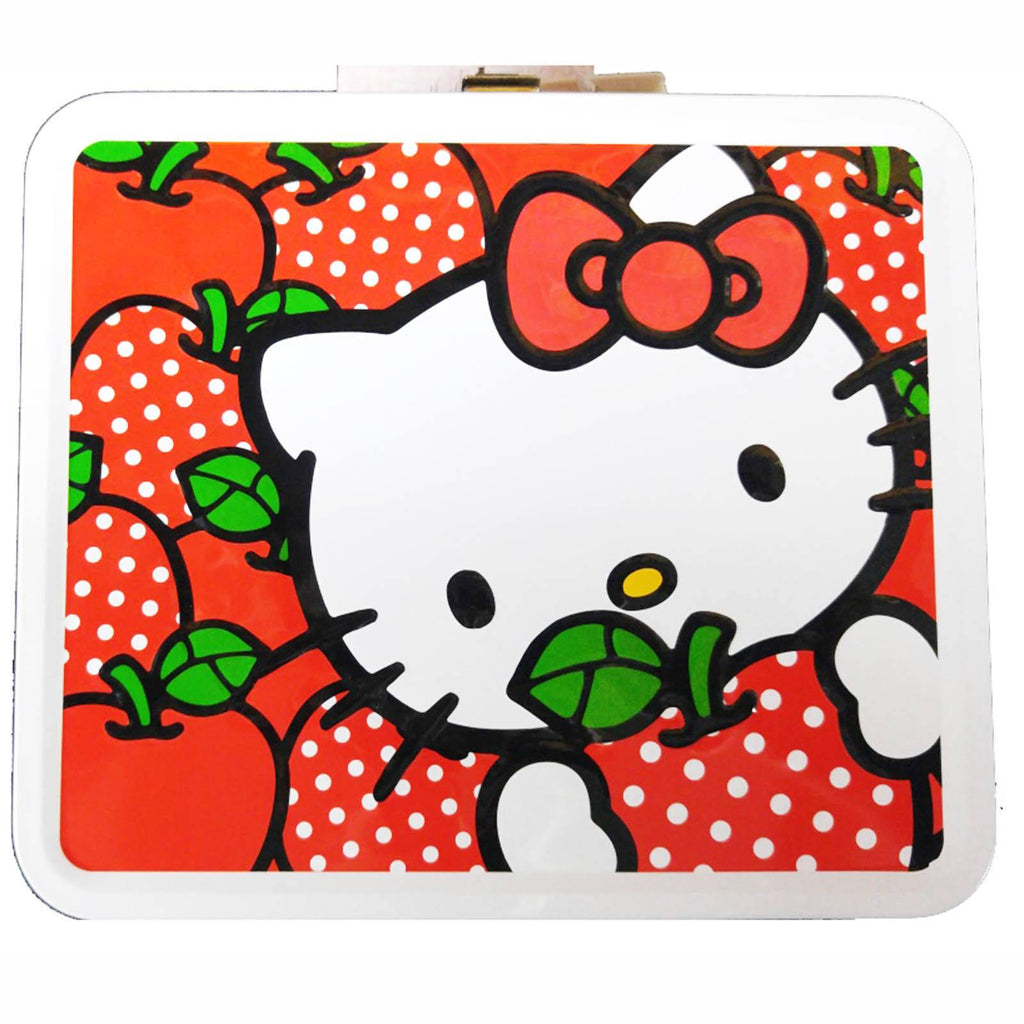 Loungefly Hello Kitty Apples With Polka Dots Metal Lunch Box