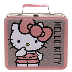Loungefly Hello Kitty Pink Big Bow Metal Lunch Box - Radar Toys
