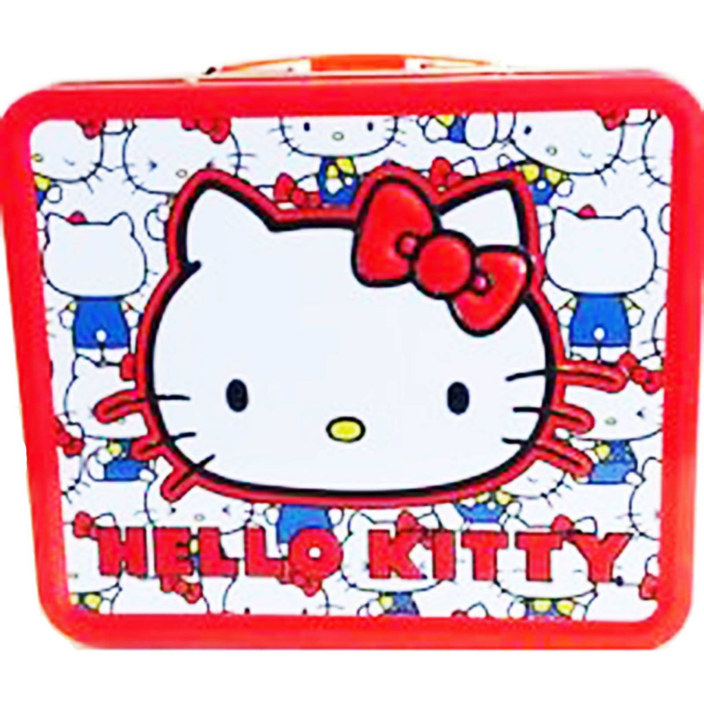 Loungefly Hello Kitty Vintage Kitty Head Metal Lunch Box