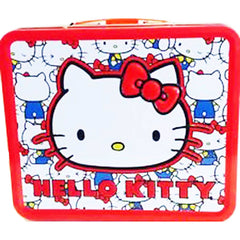 Loungefly Hello Kitty Vintage Kitty Head Metal Lunch Box - Radar Toys