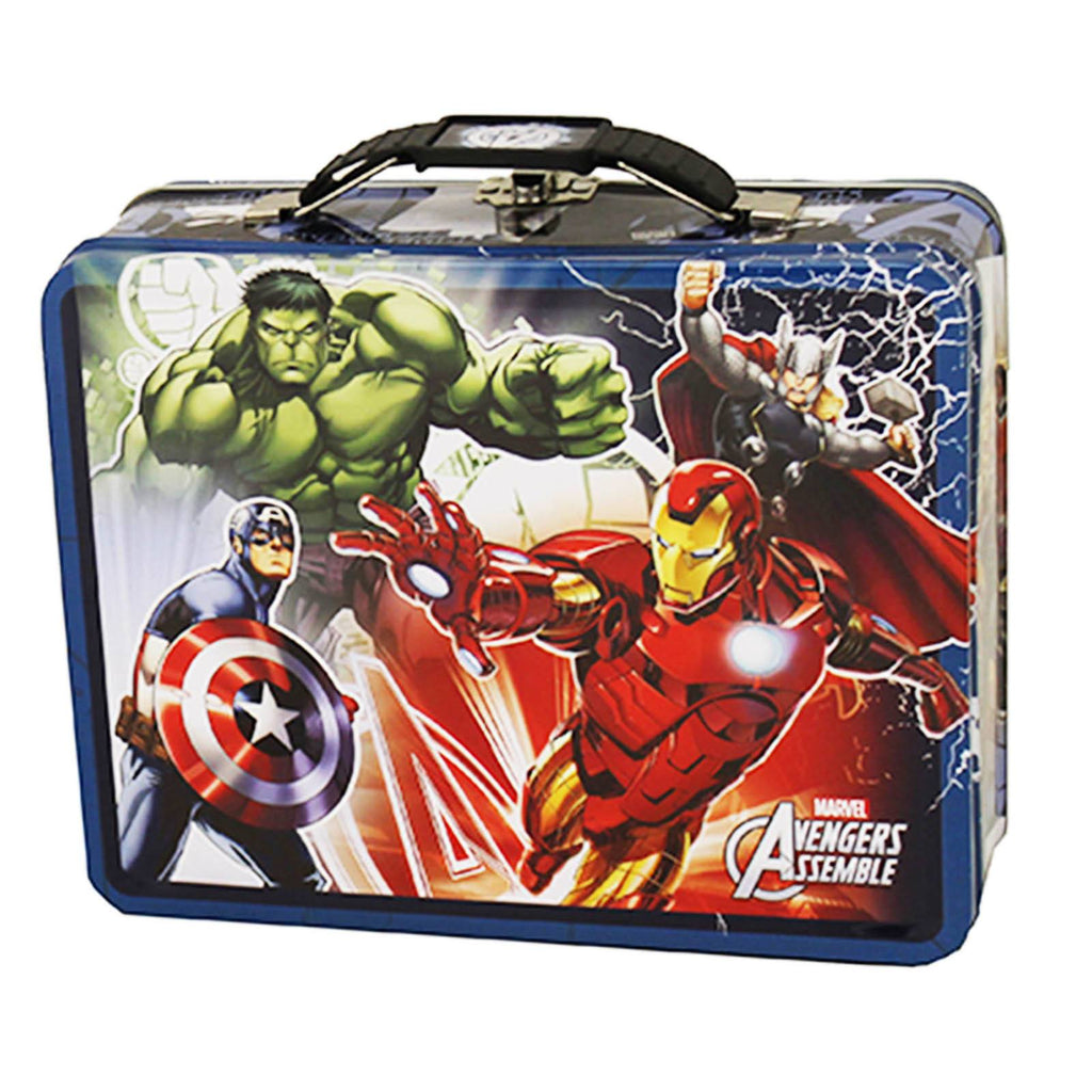 Marvel Avengers Metal Tin Lunch Box Assemble