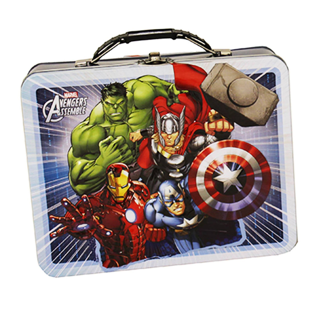 Marvel Avengers Metal Tin Lunch Box Team Up