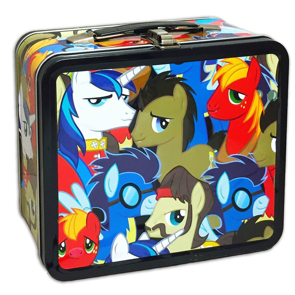 My Little Pony Bronies Group Metal Lunch Box