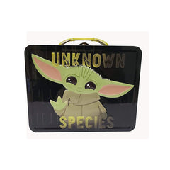 Lunch Boxes - Star Wars Mandalorian The Child Yoda Unknown Species Metal Tin