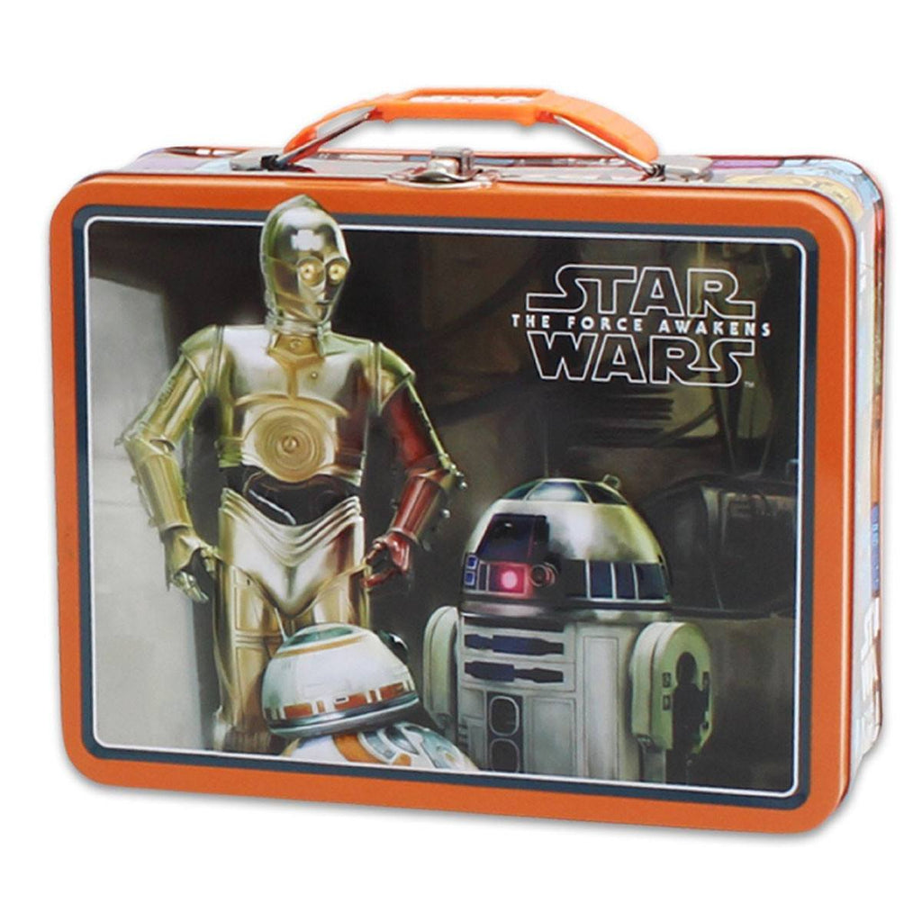 Star Wars Metal Tin Lunch Box Droids