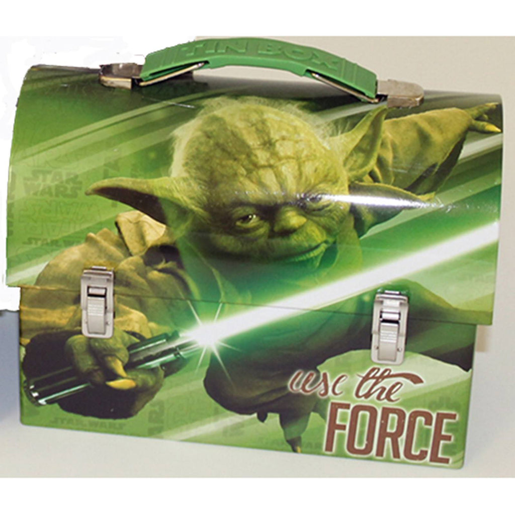 Star Wars Metal Tin Lunch Box Use The Force