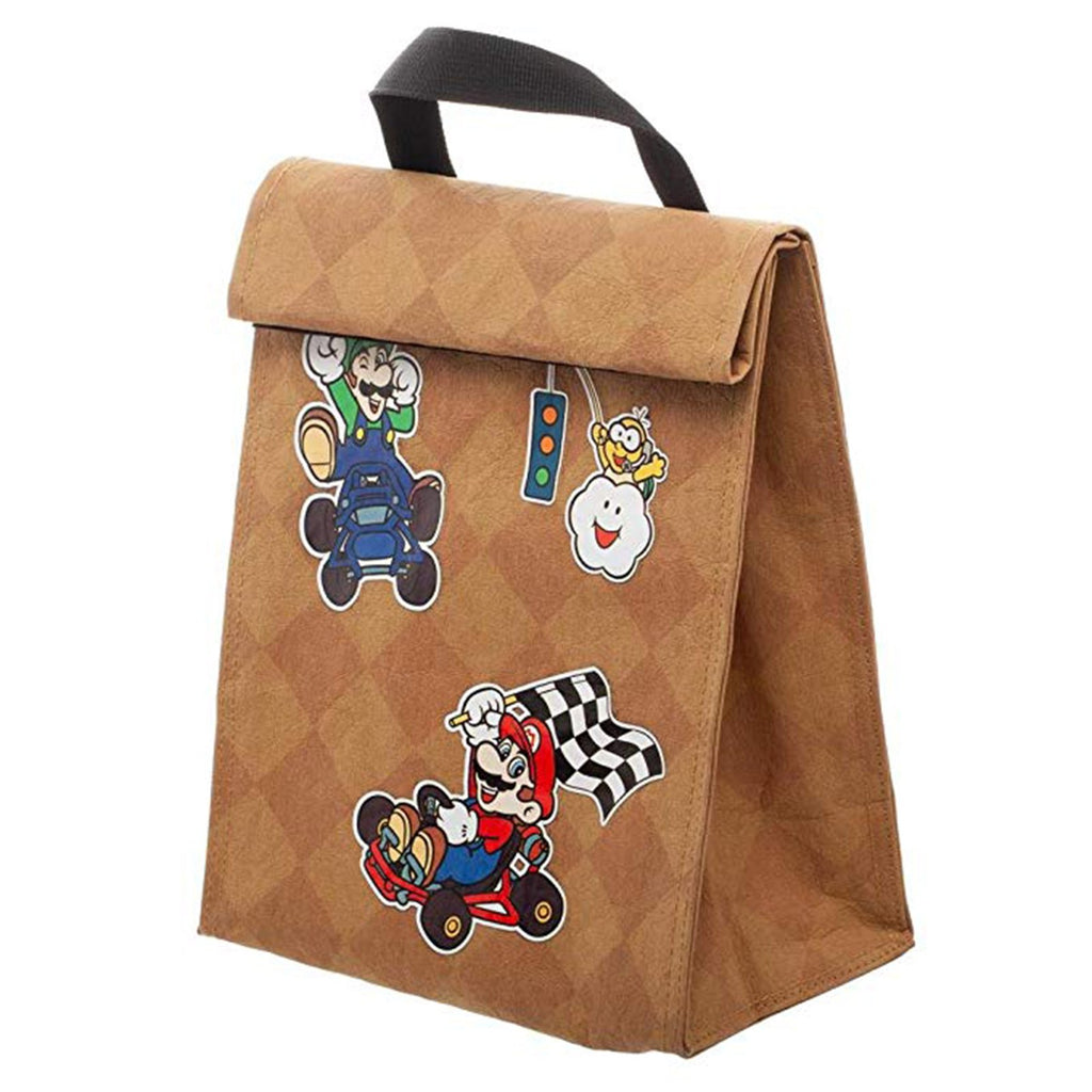 Lunch Boxes - Super Mario Kart Roll Lunch Bag