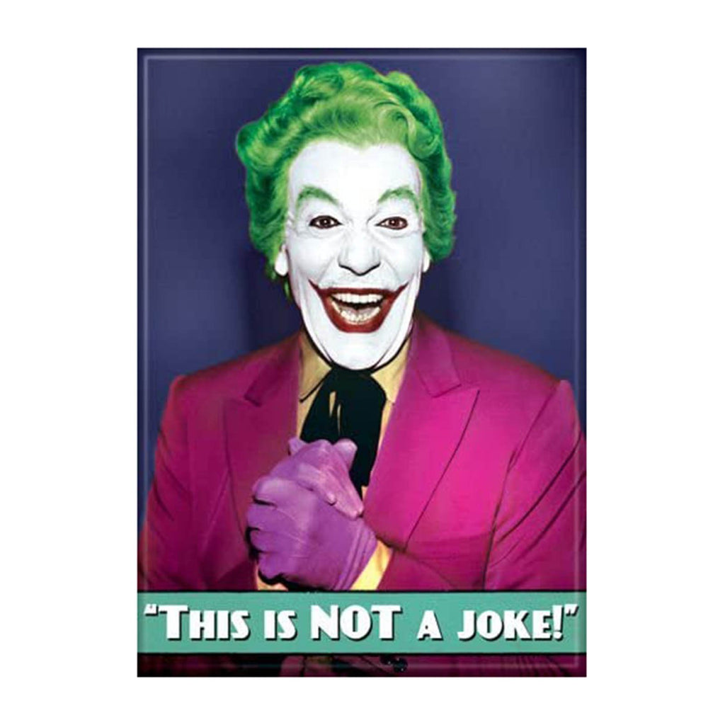 Ata-Boy Batman 60 Joker This Is Not A Joke Magnet