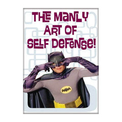 Magnet - Ata-Boy Batman 60 The Manly Art Of Self Defense Magnet