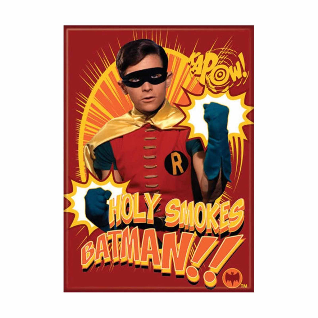 Ata-Boy Batman Kapow Robin Holy Smokes Magnet