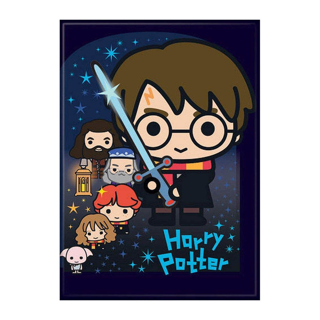 Magnet - Ata-Boy Harry Potter Charms And Cast Magnet