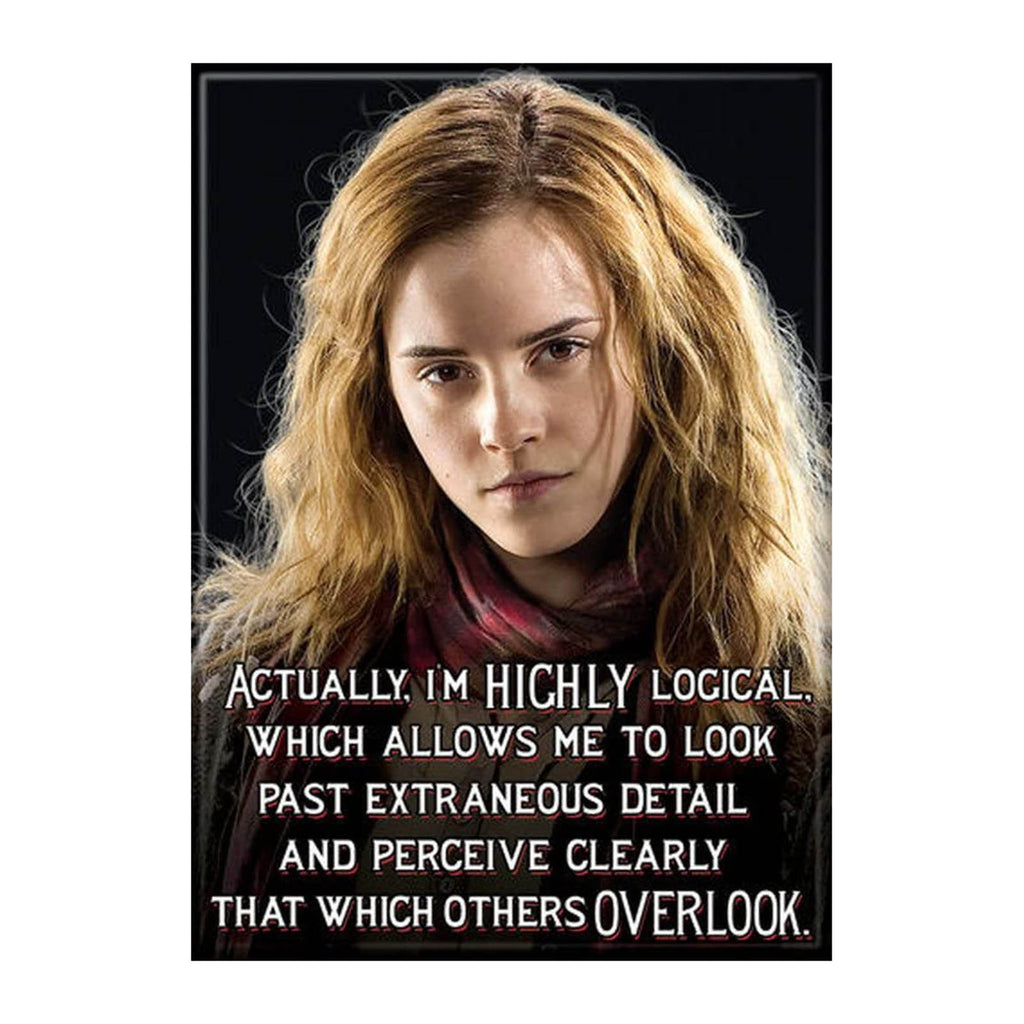 Ata-Boy Harry Potter Hermione Granger Highly Logical Magnet